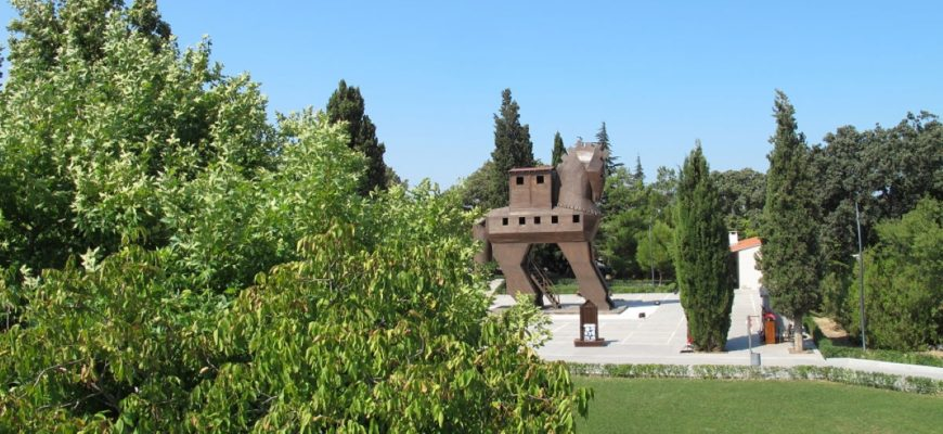 Trojan Horse, Homer and the Iliad